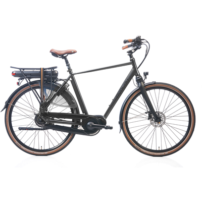 DeLuxe E-bike N8 Antraciet H54
