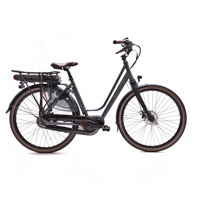 DeLuxe E-bike N8 antraciet D52